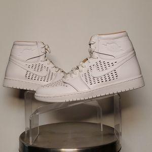 Jordan 1 Retro White Vachetta tan